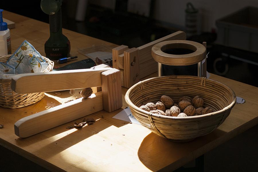 Nussknacker aus Holz